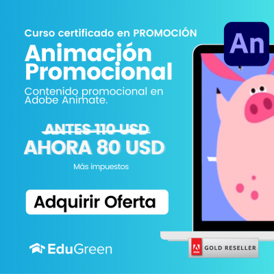 Curso Animación Promocional en Adobe Animate