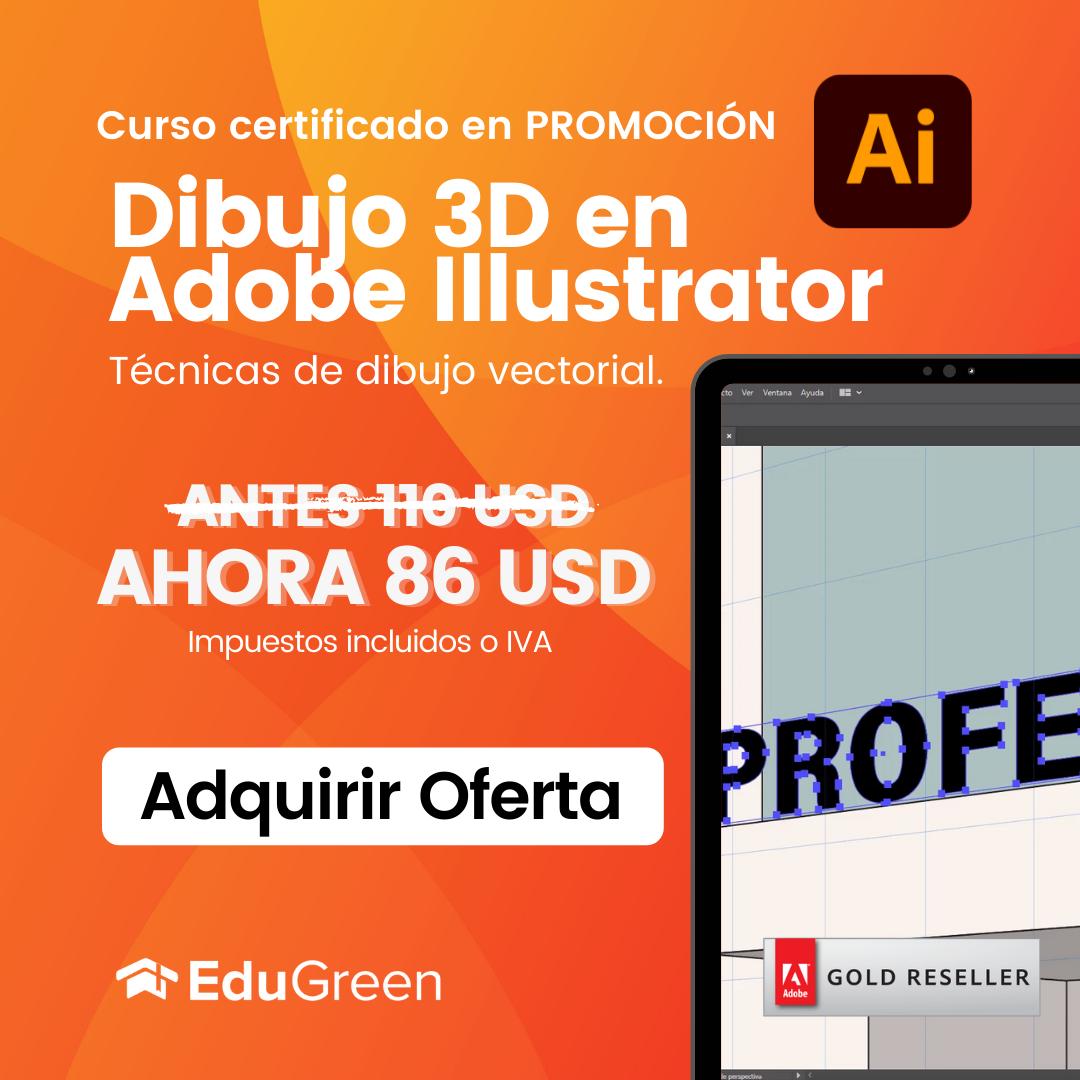 Curso Dibujo 3D en Illustrator